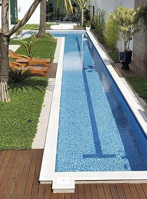 Un couloir de nage