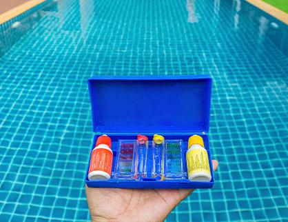 equilibrer eau piscine